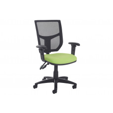 Gordy 2 lever mesh back operator chair with adjustable arms