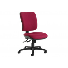 Polnoon high back operator chair no arms