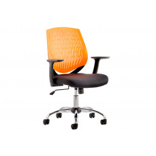 Rosina orange operator chair