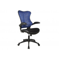 Mercury mesh back operator chair (blue)