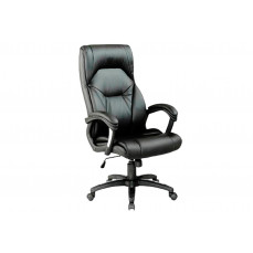 Modello high back leather faced executive chair