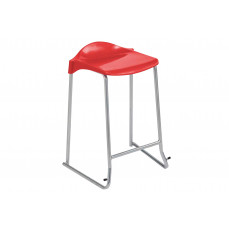Metalliform WSM skid base classroom stool