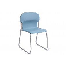 Metalliform Chair 2000 skid base classroom chair