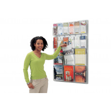 All clear leaflet display