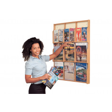Oak deluxe leaflet display