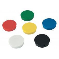 Coloured disc magnets