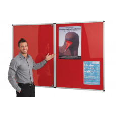 Resist-A-Flame® tamperproof noticeboard