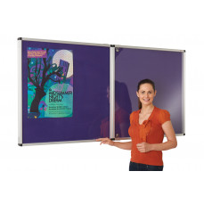 ColourPlus vibrant lockable noticeboards