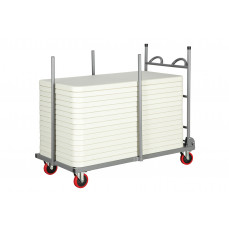 Transport trolleys for Rosenberg rectangular tables