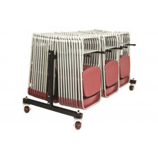 Low hanging chair transport trolley