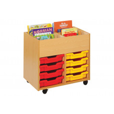 4 bay kinderbox with trays