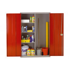 Heavy duty wide utility cupboard