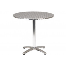 Rio circular pedestal table