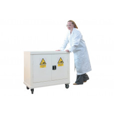 Mobile acid & alkali cupboard