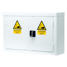 Acid and alkali wall mountable cupboard