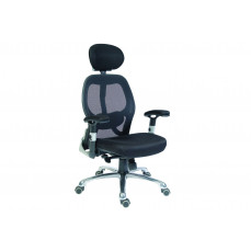 Cobham black mesh back executive chair