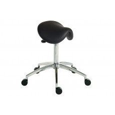 Perch sit or stand black stool