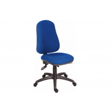 Comfort ergo operator chair with black base