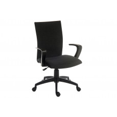 Employ fabric executive chair black