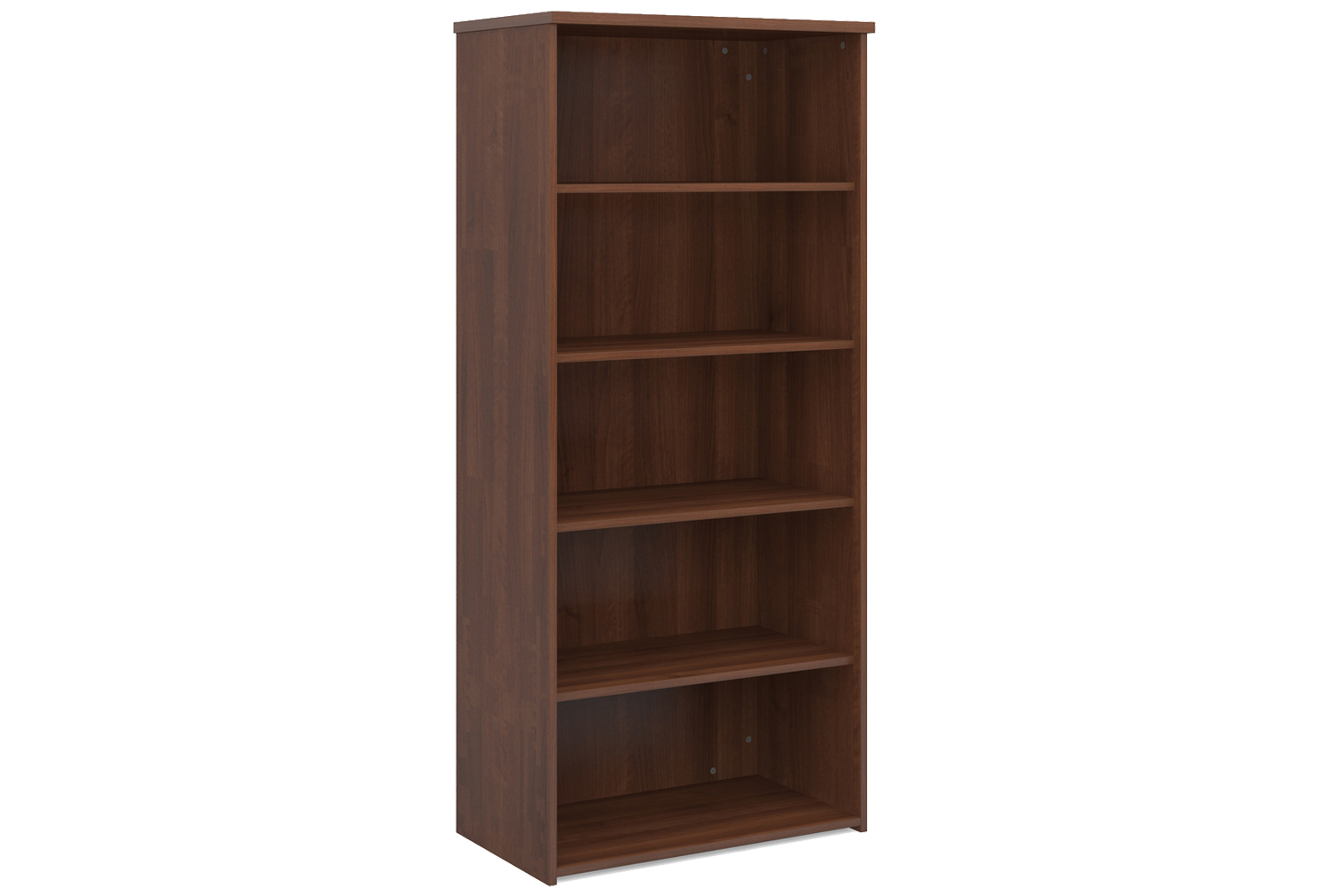 Image of Value Line Bookcases, Walnut