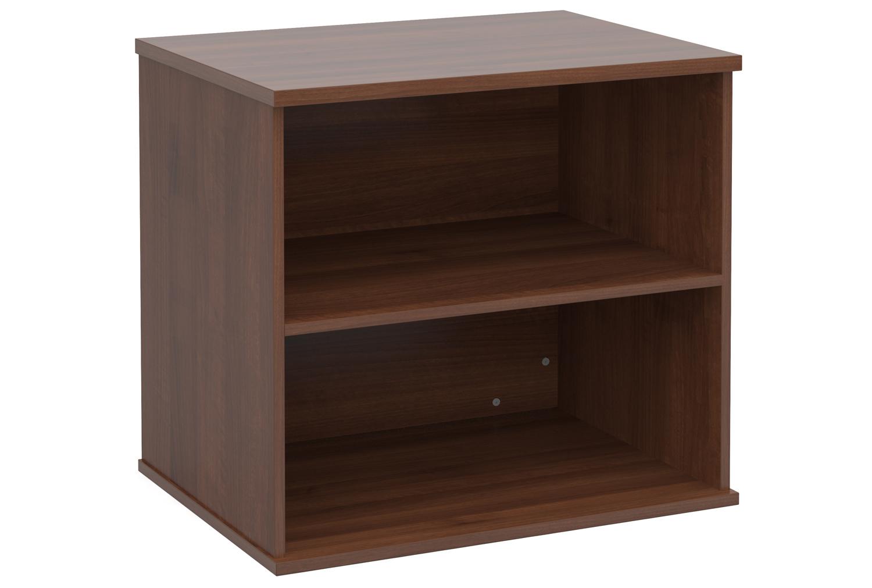 Image of Desk End Bookcases, Walnut