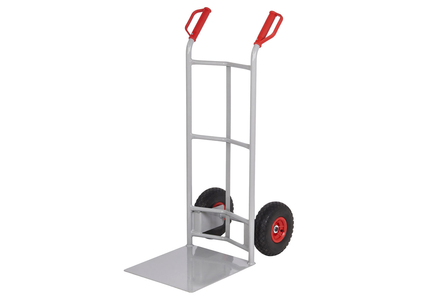 Fort Heavy Duty Sack Truck With Large Toe Plate 260kg Capacity Light Grey