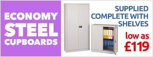 Economy Steel Cupboards