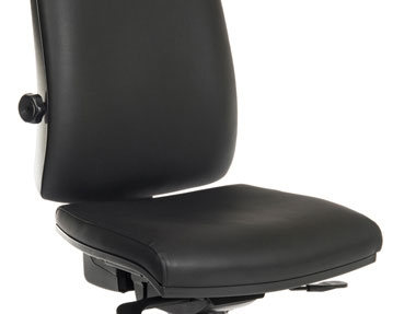 24 Hour Vinyl Office Chairs