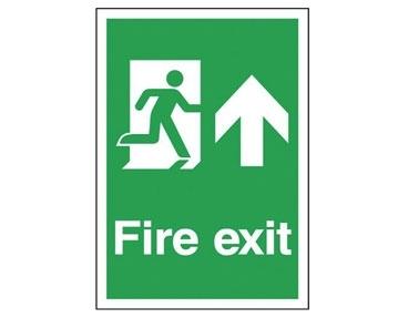 A4 Escape Route Signs