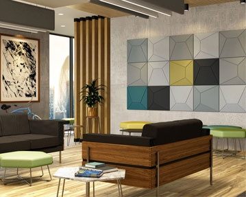 Acoustek Wall Tiles