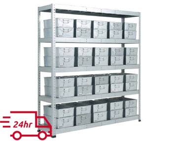 Galvanized Shelving