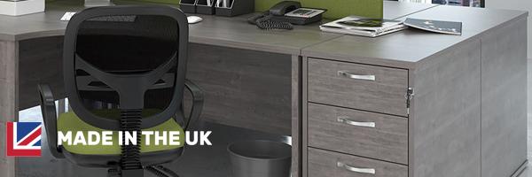 All Grey Oak Office Desks & Furniture