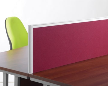 Aluminium Framed Desk Screens