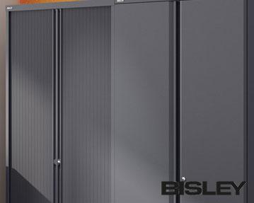 Bisley Essentials Two Door Cupboards