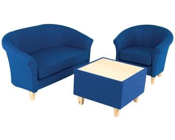 Borro Fabric Tub Seats