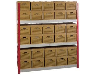 Box Storage Shelving