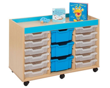 Bubblegum Tray Storage Units