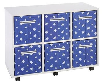 Canvas Tray Storage Units