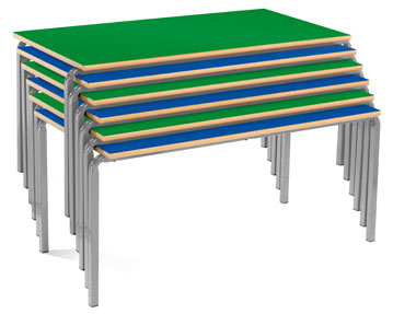 Crush Bent Classroom Tables