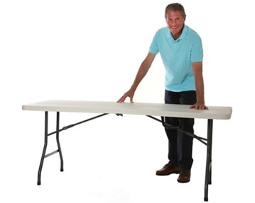 Centre Fold Folding Tables