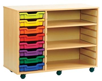 Combination Tray Storage Units