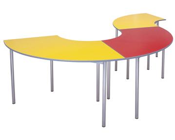 Educate Premium Curve Classroom Tables