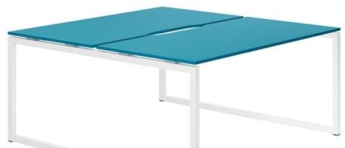 Campos Bench Desks (Light Blue)