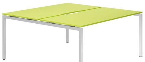 Campos Bench Desks (Green)