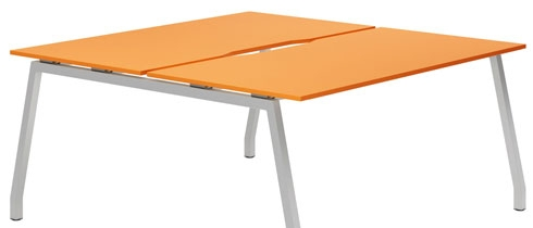 Campos Bench Desks (Orange)