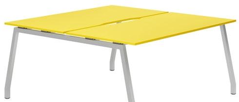 Campos Bench Desks (Yellow)
