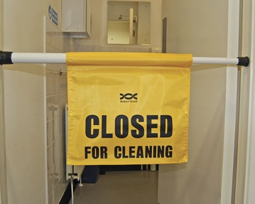 Cleaning Signage