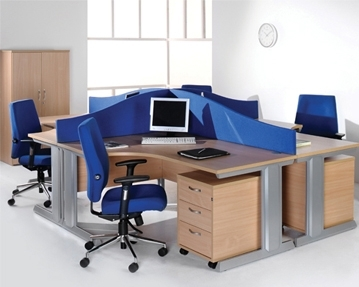 Cable Managed Desks