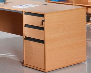 Desk High Drawers