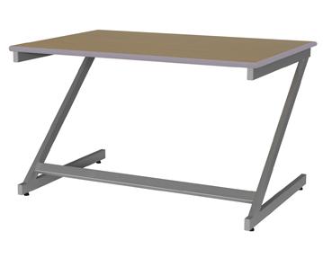 Educate Z-Frame Classroom Tables